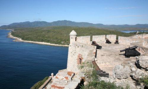 Zdjecie KUBA / Santiago de Cuba / Castillo de San Pedro de la Roca / Twierdza z początku XVII wieku