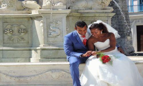 Zdjecie KUBA / Hawana / Hawana / Sesja ślubna Kubańczyków w Hawanie