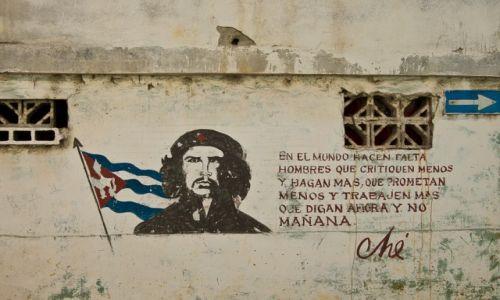 Zdjęcie KUBA / Havana / Havana / Myśli wodzów rewolucji