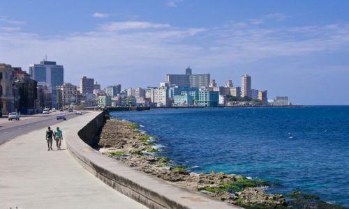 Zdjęcie KUBA / Havana / Malecon / Spacerniak
