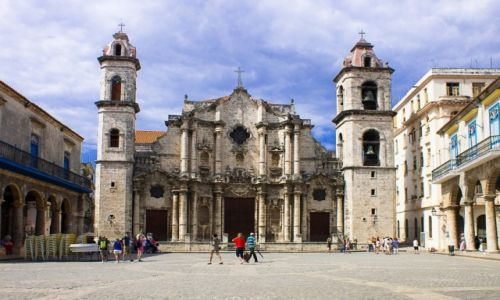 Zdjęcie KUBA / Havana / Havana Vieja / Katedra