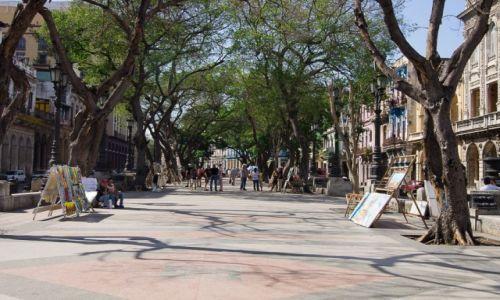 Zdjecie KUBA / Havana / to ulica Prado / To nie Rambla :-)