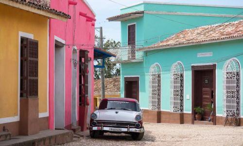 Zdjęcie KUBA / / / Trynidad / Wypasiona uliczka