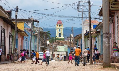 Zdjęcie KUBA / / / Trynidad / Uliczka w niedzielę