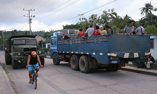 Zdjecie KUBA / Guantánamo / Baracoa / Komunikacja miejska
