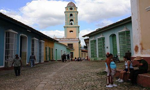 Zdjecie KUBA / Sancti Spiritus / Trynidad de Cuba / 25 grudnia, w południe