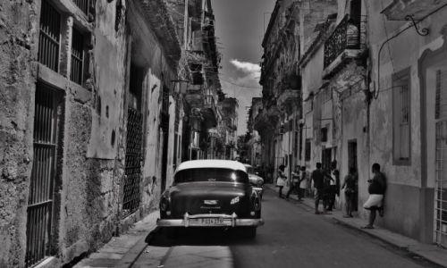 KUBA / - / Havana / Ulice Havany