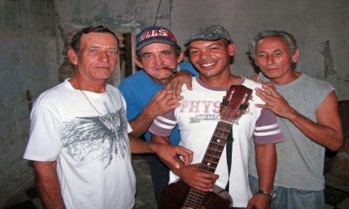 Zdjęcie KUBA / Cienfuegos / Cienfuegos / Zespół muzyczny