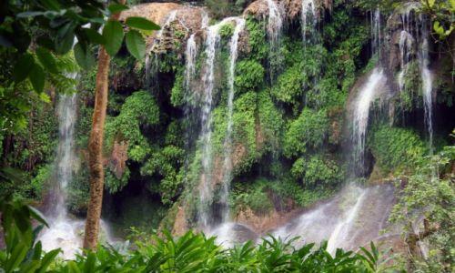 Zdjęcie KUBA / Trinidad / El Nicho / Wodospady El Nicho na Kubie
