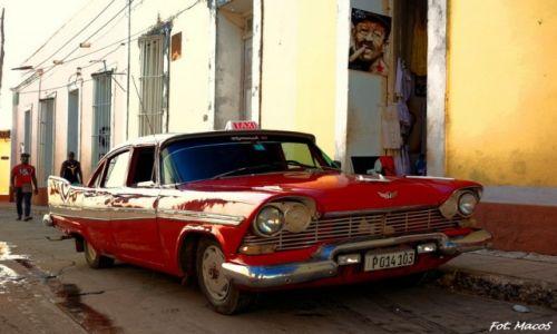 Zdjęcie KUBA / Trinidad / Trinidad / Auto