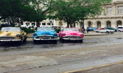Zdjecie KUBA / -havana / capitol / coches