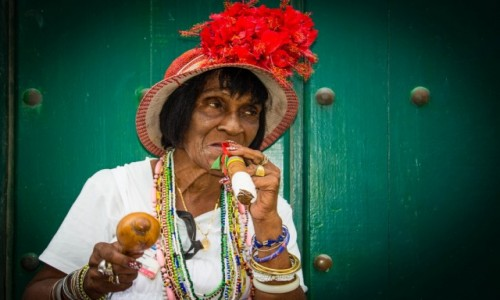 Zdjecie KUBA / Havana / Havana / Nietypowa miejs