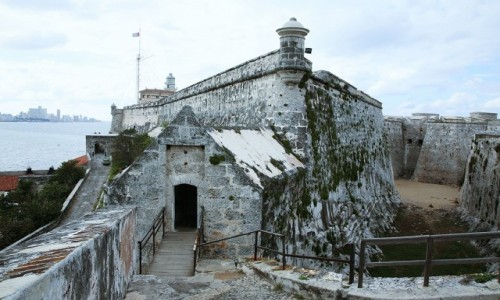 Zdjęcie KUBA / Hawana / Morro Castle  / Stary fort