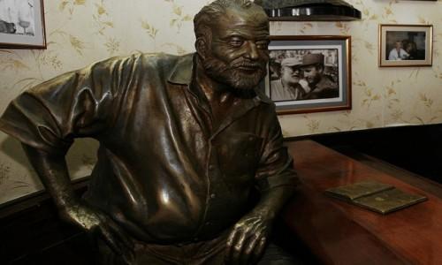 Zdjęcie KUBA / Hawana / El Floridita / Kącik Ernesta Hemingway'a