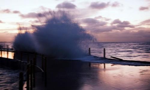 Zdjęcie KUBA / Hawana / El Malecon / O świcie