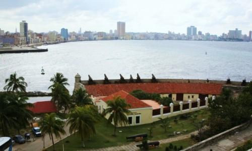 Zdjęcie KUBA / Hawana / Morro Castle  / Widok na drugi brzeg