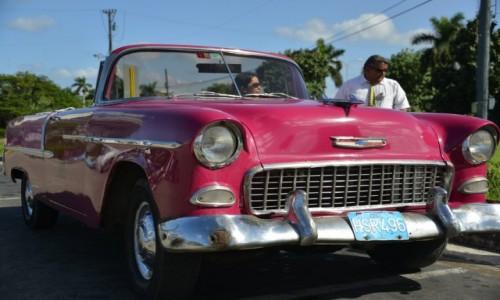 Zdjęcie KUBA / xxx / Hawana / Kubańskie auta