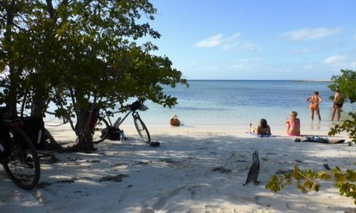 KUBA / Kuba / Kuba / Błogie plażowanie