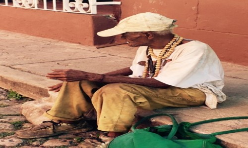 Zdjecie KUBA / Trinidad / Trinidad / Kubańczyk