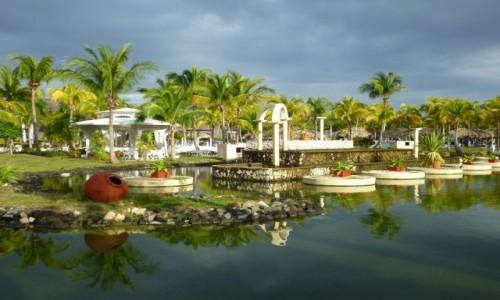 KUBA / Varadero / Varadero / Architektura krajobrazu w wydaniu kubańskim