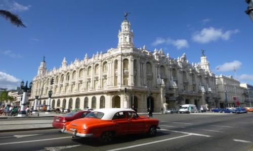 Zdjecie KUBA / Hawana / Hawana / Teatr Wielki w Hawanie