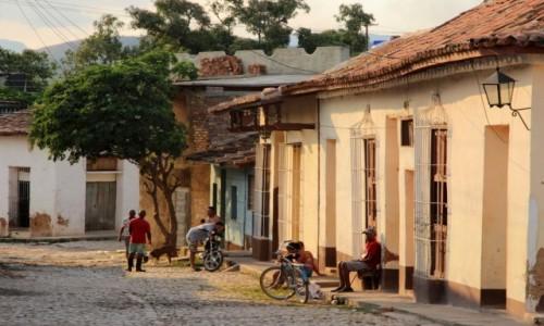 Zdjecie KUBA / Sancti Spíritus / Trynidad / Trynidad popołudniową porą
