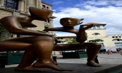 Zdjęcie KUBA / xxx / Hawana / Nietypowa rzeźba