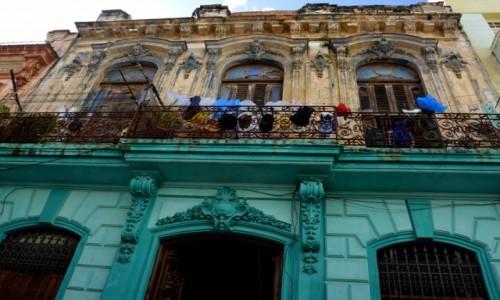 Zdjecie KUBA / xxx / Hawana / Kamienice w Hawanie