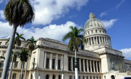 Zdjecie KUBA / xxx / Hawana / Parlament w remoncie Hawana