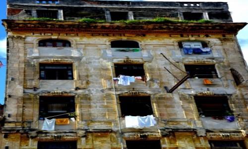 Zdjecie KUBA / xxx / Hawana / Dawny hotel w Hawanie