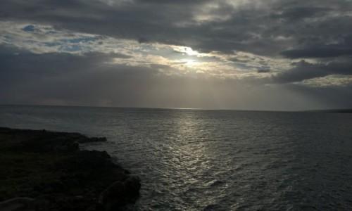 Zdjecie KUBA / La Boca / La Boca / Zachód słońca w La Boca