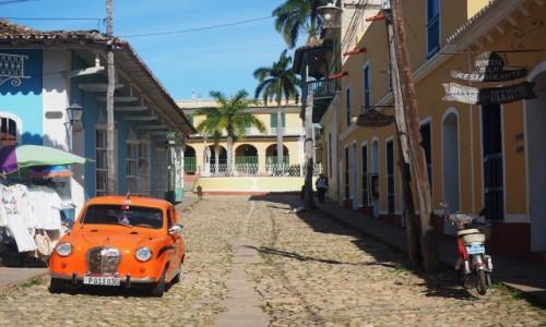 Zdjęcie KUBA / południowa Kuba / Trinidad / Uliczka