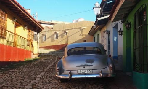 Zdjęcie KUBA / południowo-środkowa Kuba / Trinidad / Uliczka