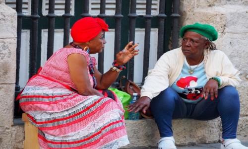Zdjęcie KUBA / płn. Kuba / Hawana / Babskie pogaduszki