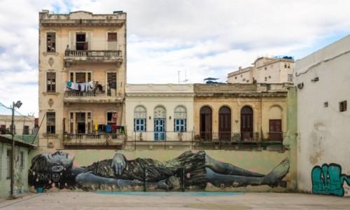 Zdjęcie KUBA / Hawana / Hawana / Mural w Hawanie
