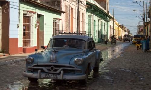 Zdjęcie KUBA / Sancti Spiritus / Trinidad / Kubańskie TAXI