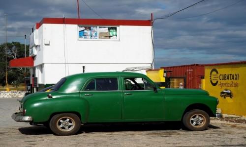 Zdjecie KUBA / południowa Kuba / Półwysep Zapata, Playa Giron / Taxi