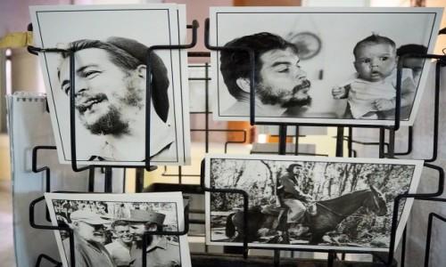 Zdjecie KUBA / płn. Kuba / Hawana / Pamiątki z Che
