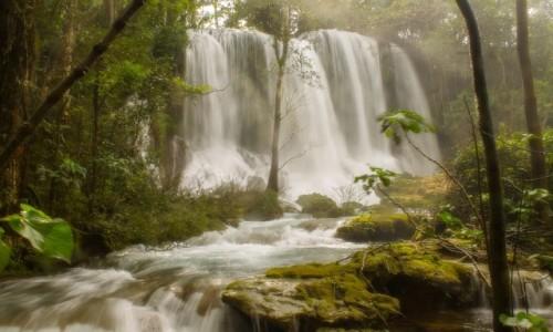 Zdjecie KUBA / Sancti Spiritus /  Park Narodowy El Topes de Collantes  / Wodospad EL Nicho