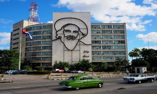 Zdjecie KUBA / płn. Kuba / Hawana / Na placu rewolucji