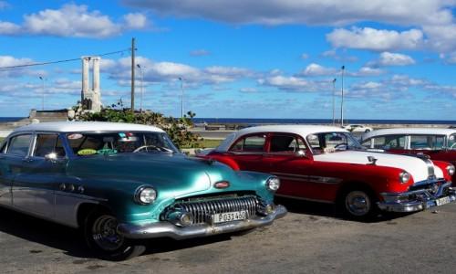 Zdjecie KUBA / płn. Kuba / Havana  / Stare samochody