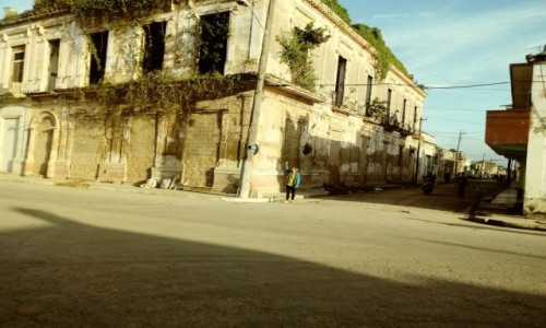 Zdjecie KUBA / Matanzas / Cardenas / Budynki
