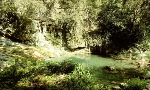 Zdjecie KUBA / Samncti spiritus / Trinidad / Wodospad