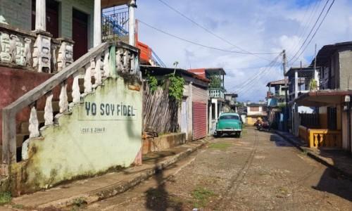Zdjęcie KUBA / Wschód / Baracoa / Jestem Fidel