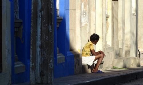 Zdjęcie KUBA / środkowy wschód / Camaguey / Zamiast z cygarem