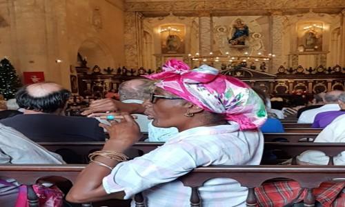Zdjęcie KUBA / Hawana / katedra  / Za długa ta msza!