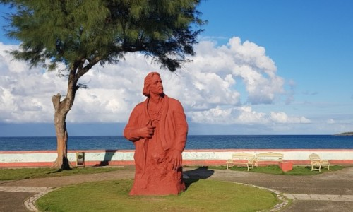 Zdjecie KUBA / wschodni kraniec wyspy / Baracoa / Nie wiedział, dokąd dotarł