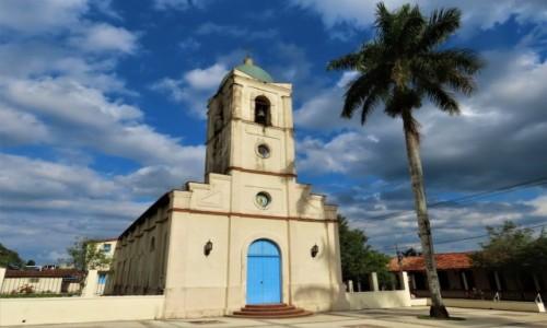 KUBA / Pinar del Rio / Vinales / Kościół