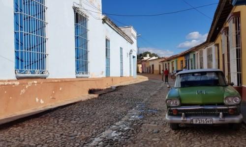 KUBA / Prowincja Sancti Spiritus / Trinidad / UliceTrinidadu