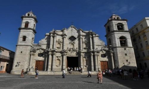 KUBA / Stolica / La Habana / La Habana katedra
